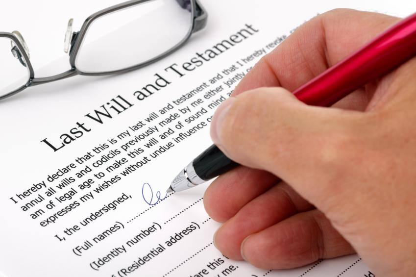 The Making of a Will: Info to get you started